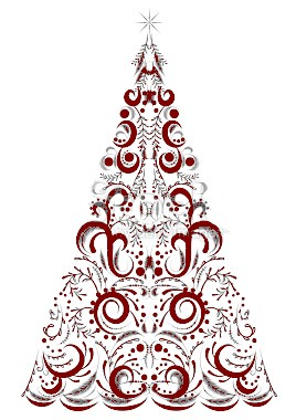 stock-illustration-18348638-victorian-calligraphy-style-christmas-tree-shape