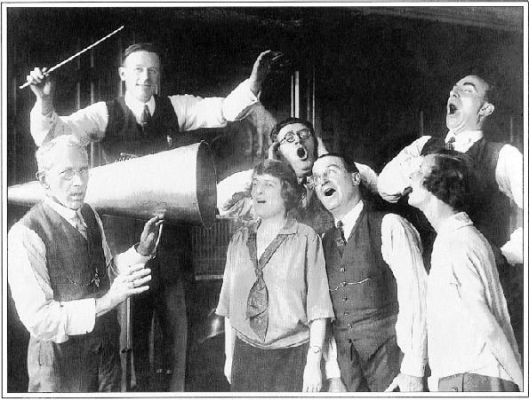 Rehearsing Gilbert & Sullivan's Princess Ida